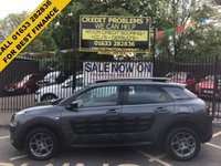 USED 2015 15 CITROEN C4 CACTUS 1.6 BLUEHDI FEEL 5d 98 BHP LOW MILEAGE, VERY ECONOMICAL, STUNNING TAPENADE GREY METALLIC, LOVELY GREY CLOTH INTERIOR, CRUISE CONTROL SPEED LIMITER, AIRCON, 16 INCH ALLOY WHEELS, BLUETOOTH, CD ETC,