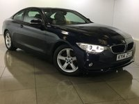 USED 2014 14 BMW 4 SERIES 2.0 420D SE 2d 181 BHP 1 Owner/Full Black Leather