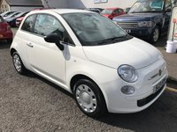 USED 2011 61 FIAT 500 1.2 POP 3d 69 BHP PRICE INCLUDES A 6 MONTH AA WARRANTY DEALER CARE EXTENDED GUARANTEE, 1 YEARS MOT AND A OIL & FILTERS SERVICE. 12 MONTHS FREE BREAKDOWN COVER