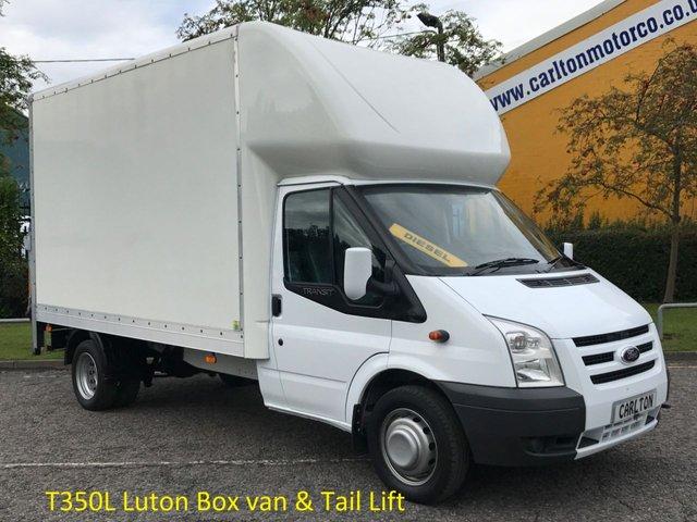 2010 10 FORD TRANSIT 100 T350 LWB Luton / Box van+T/LIFT Free UK Delivery
