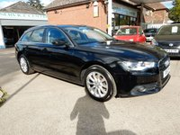 USED 2012 12 AUDI A6 2.0 AVANT TDI SE 5d 175 BHP ONE OWNER WITH FULL HISTORY AND BOTH KEY'S