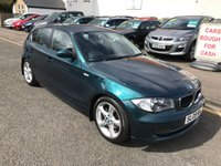USED 2009 09 BMW 1 SERIES 2.0 118D SE 5d 141 BHP PRICE INCLUDES A 6 MONTH AA WARRANTY DEALER CARE EXTENDED GUARANTEE, 1 YEARS MOT AND A OIL & FILTERS SERVICE. 12 MONTHS FREE BREAKDOWN COVER