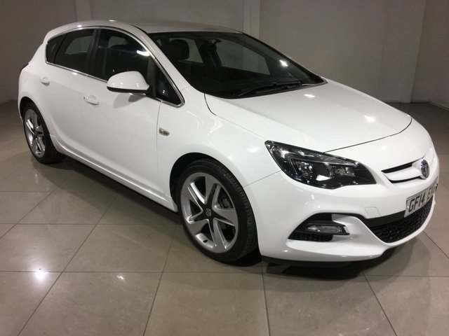 View our 2014 14 VAUXHALL ASTRA 1.4 LIMITED EDITION 5d 140 BHP