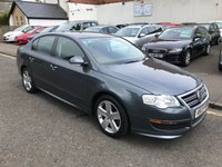USED 2009 59 VOLKSWAGEN PASSAT 2.0 R LINE TDI 4d 109 BHP PRICE INCLUDES A 6 MONTH AA WARRANTY DEALER CARE EXTENDED GUARANTEE, 1 YEARS MOT AND A OIL & FILTERS SERVICE. 12 MONTHS FREE BREAKDOWN COVER