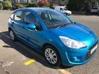 USED 2011 61 CITROEN C3 1.4 VT 5d 75 BHP PRICE INCLUDES A 6 MONTH AA WARRANTY DEALER CARE EXTENDED GUARANTEE, 1 YEARS MOT AND A OIL & FILTERS SERVICE. 12 MONTHS FREE BREAKDOWN COVER