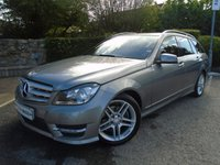 USED 2013 13 MERCEDES-BENZ C CLASS 2.1 C250 CDI BLUEEFFICIENCY AMG SPORT 5d 202 BHP ** FSH + SAT NAV + MANUAL GEARBOX **