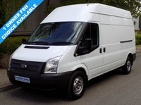 USED 2012 61 FORD TRANSIT 2.2 FWD 350 LWB HIGH ROOF 125 BHP 6 SPEED 1 Owner, Full Service History
