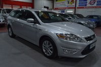 USED 2012 62 FORD MONDEO 2.0 ZETEC TDCI 5d 138 BHP 1 OWNER FROM NEW WITH FULL SERVICE HISTORY AND CAMSHAFT DRIVE BELT DONE @ 125000 MILES,THIS CAR IS A BEAUTIFUL EXAMPLE.