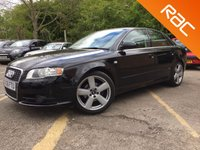 USED 2006 06 AUDI A4 2.0 S LINE 4d CAM BELT CHANGED, 11 SERVICES, STUNNING  11 SERVICES, CAM BELT CHANGED, ONLY 2 FORMER KEEPERS
