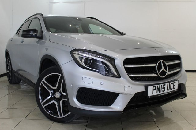View our 2015 15 MERCEDES-BENZ GLA-CLASS 2.1 GLA200 CDI 4MATIC AMG LINE PREMIUM 5DR AUTOMATIC 134 BHP