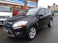 USED 2012 62 FORD KUGA 2.0 TITANIUM X TDCI 5d 163 BHP PANTHER BLACK/BLACK LEATHER