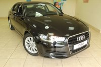 USED 2012 62 AUDI A6 2.0 TDI SE 4d 175 BHP MULTITRONIC SALOON SATELLITE NAVIGATION, BLACK LEATHER, PADDLE SHIFT, BLUETOOTH, 17 INCH ALLOYS, CRUISE CONTROL, VOICE RECOGNITION, LOVELY SPEC AND CAR
