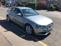 USED 2011 61 AUDI A4 2.0 AVANT TDI QUATTRO DPF SE 5d 168 BHP PRICE INCLUDES A 6 MONTH AA WARRANTY DEALER CARE EXTENDED GUARANTEE, 1 YEARS MOT AND A OIL & FILTERS SERVICE. 12 MONTHS FREE BREAKDOWN COVER