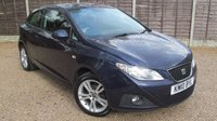 USED 2010 10 SEAT IBIZA 1.6 SPORT 3dr Air Con, Alloys, FSH