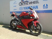 USED 2011 11 YAMAHA YZF-R125 RED,  ** HPI CLEAR **