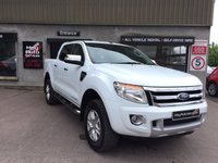USED 2013 63 FORD RANGER 3.2 LIMITED 4X4 DCB TDCI 1d 197 BHP *** HIGH SPEC ***