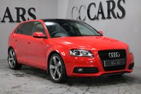 USED 2012 62 AUDI A3 2.0 SPORTBACK TDI S LINE SPECIAL EDITION 5d 138 BHP BIG SPEC PAN ROOF FAMDSH