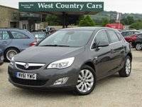 USED 2011 61 VAUXHALL ASTRA 2.0 SE CDTI S/S 5d 163 BHP Practical Family Hatchback