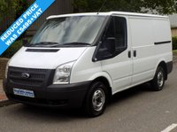 USED 2013 62 FORD TRANSIT 2.2 FWD 260 SWB LOW ROOF 125 BHP 6 SPEED 1 Owner, Full Service History