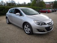 USED 2014 14 VAUXHALL ASTRA 1.6 SRI 5d AUTO 115 BHP Please Phone For Viewing.