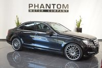 USED 2012 12 MERCEDES-BENZ C CLASS 2.1 C220 CDI BLUEEFFICIENCY SPORT 4d AUTO 168 BHP