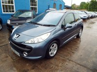 USED 2006 56 PEUGEOT 207 1.4 SPORT 3d 89 BHP FREE 12 MONTH AA ROADSIDE RECOVERY INCLUDED
