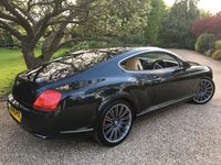 USED 2008 58 BENTLEY CONTINENTAL 6.0 GT SPEED 2d AUTO 603 BHP