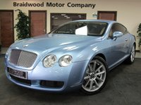 USED 2005 54 BENTLEY CONTINENTAL 6.0 GT 2d AUTO 550 BHP