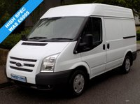 USED 2012 12 FORD TRANSIT 2.2 FWD 260 SWB MEDIUM ROOF 100 BHP 6 SPEED High Spec, 2 Owners