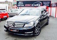 USED 2013 63 MERCEDES-BENZ C CLASS 2.1 C200 CDI BLUEEFFICIENCY AMG SPORT PLUS 4d 135 BHP