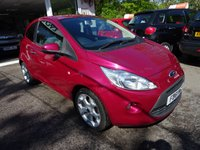 USED 2011 61 FORD KA 1.2 TITANIUM 3d 69 BHP Low Mileage, Service History, MOT until December 2017, One Previous Owner, Great on fuel! Only £30 Road Tax! Low Insurance Group!