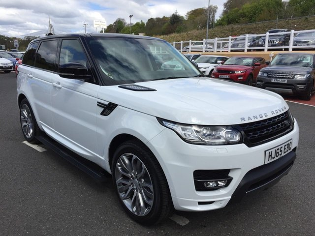 2015 65 LAND ROVER RANGE ROVER SPORT 3.0 SDV6 AUTOBIOGRAPHY DYNAMIC AUTO 306 BHP