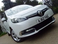USED 2013 62 RENAULT SCENIC 1.5 DYNAMIQUE TOMTOM DCI 5d 110 BHP