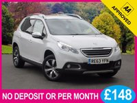 USED 2014 63 PEUGEOT 2008 1.6 E-HDI ALLURE 5dr 92 BHP SAT NAV LEATHER HEATED SEATS