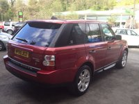 USED 2005 05 LAND ROVER RANGE ROVER SPORT 2.7 TDV6 HSE 5d AUTO 188 BHP SERVICE HISTORY ** 3 FORMER KEEPERS ** CHEAP TAX**