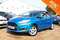USED 2016 16 FORD FIESTA 1.2 ZETEC 5d 81 BHP Bluetooth, Ford Warranty & more