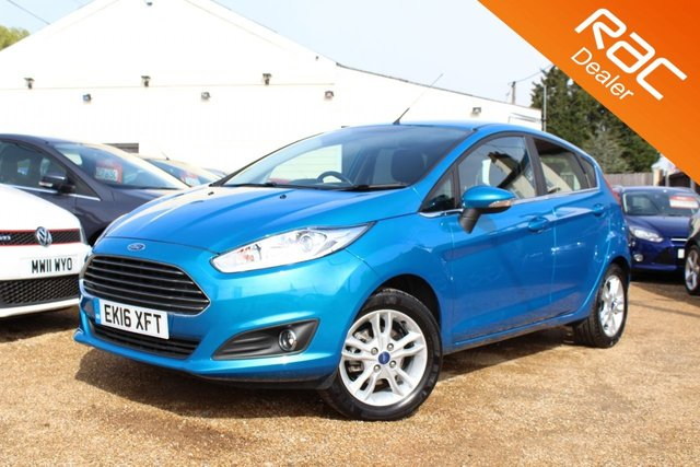 View our 2016 16 FORD FIESTA 1.2 ZETEC 5d 81 BHP