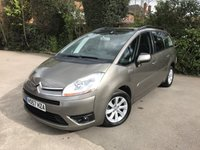 2007 CITROEN C4 PICASSO 2.0 GRAND VTR PLUS HDI EGS 5d AUTO 135 BHP £SOLD