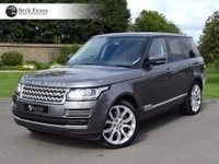 USED 2015 LAND ROVER RANGE ROVER 4.4 SDV8 VOGUE SE 5d AUTO 339 BHP 22 INCH WHEELS PANORAMIC SUNROOF