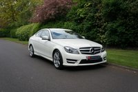 USED 2011 K MERCEDES-BENZ C-CLASS 1.8 C180 BLUEEFFICIENCY AMG SPORT EDITION 125 2d AUTO 156 BHP