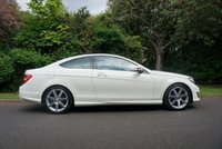 USED 2011 K MERCEDES-BENZ C CLASS 1.8 C180 BLUEEFFICIENCY AMG SPORT EDITION 125 2d AUTO 156 BHP