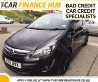 USED 2013 13 VAUXHALL CORSA 1.2 LIMITED EDITION 3d 83 BHP