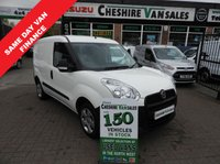 USED 2014 14 FIAT DOBLO 1.2 16V SX MULTIJET  90 BHP NEW SHAPE CHOICE SAME DAY VAN FINANCE OPEN 7 DAYS PX WELCOME