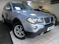 2007 BMW X3 2.0 D SE 5d 148 BHP £6495.00