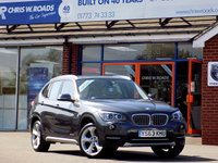 USED 2013 63 BMW X1 XDRIVE 20D XLINE 5dr (181) * Leather Pan Roof & Pro Nav *