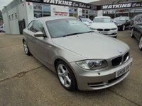 USED 2008 08 BMW 1 SERIES 2.0 123D SE 2d 202 BHP