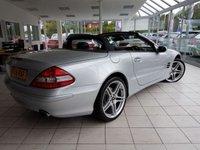 USED 2008 58 MERCEDES-BENZ SL 5.5 SL500 2d AUTO 383 BHP