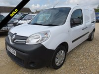 USED 2013 63 RENAULT KANGOO MAXI  CORE 1.5 DCI ENERGY LWB 35037 MILES FROM NEW NO VAT