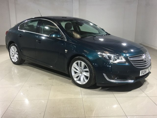 View our 2014 14 VAUXHALL INSIGNIA 2.0 ELITE CDTI ECOFLEX S/S 5d 160 BHP