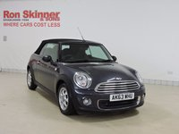 USED 2014 63 MINI CONVERTIBLE 1.6 ONE 2d 98 BHP with Bluetooth + More